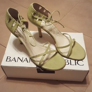 Apple Green Sandals